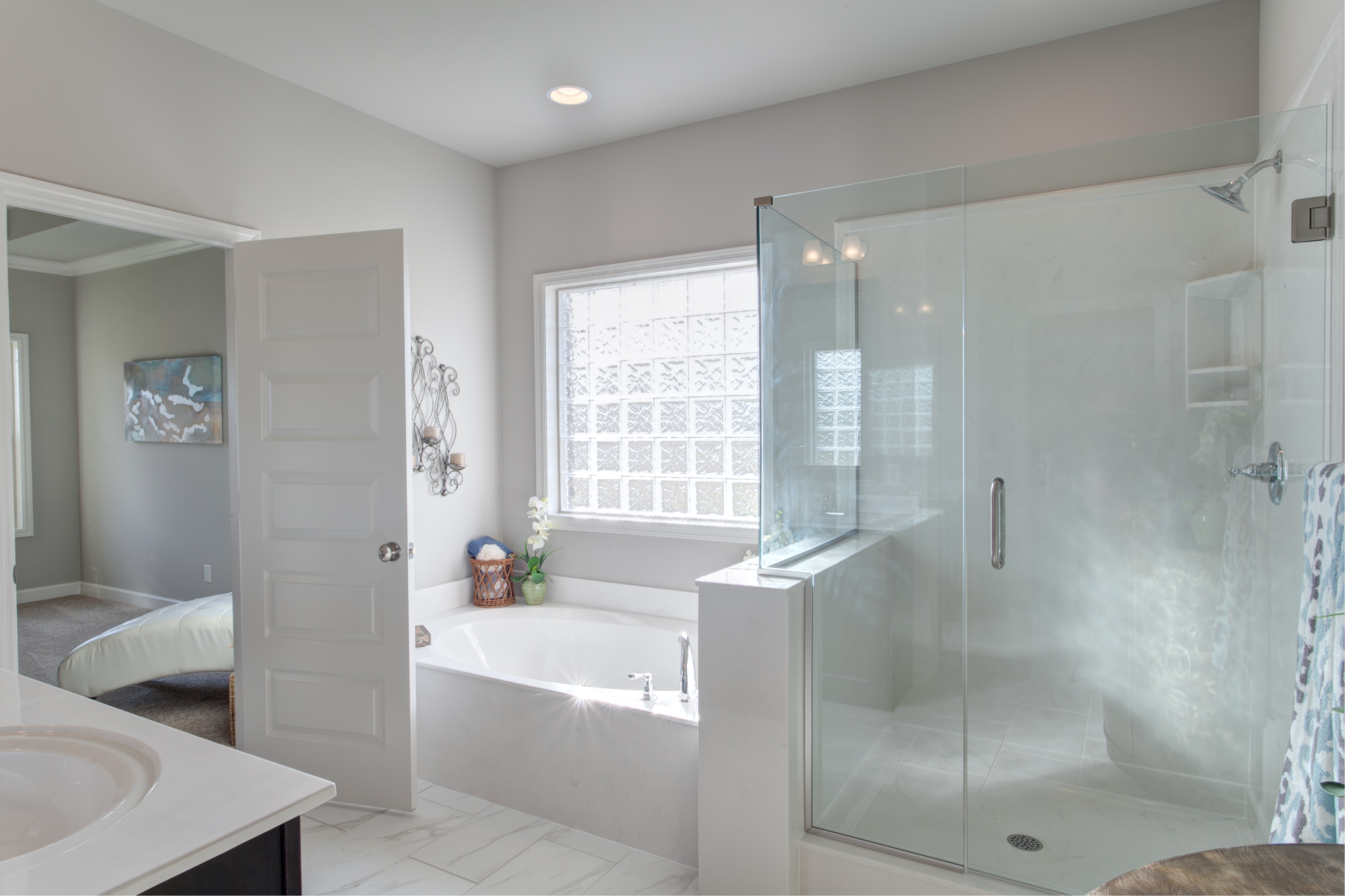 Amazing ... House Till Can No Longer Do So. Tubs Make This Much Harder. The Large  Walk In Showers Are Much More Practical When Thinking About The Future And  Getting ...