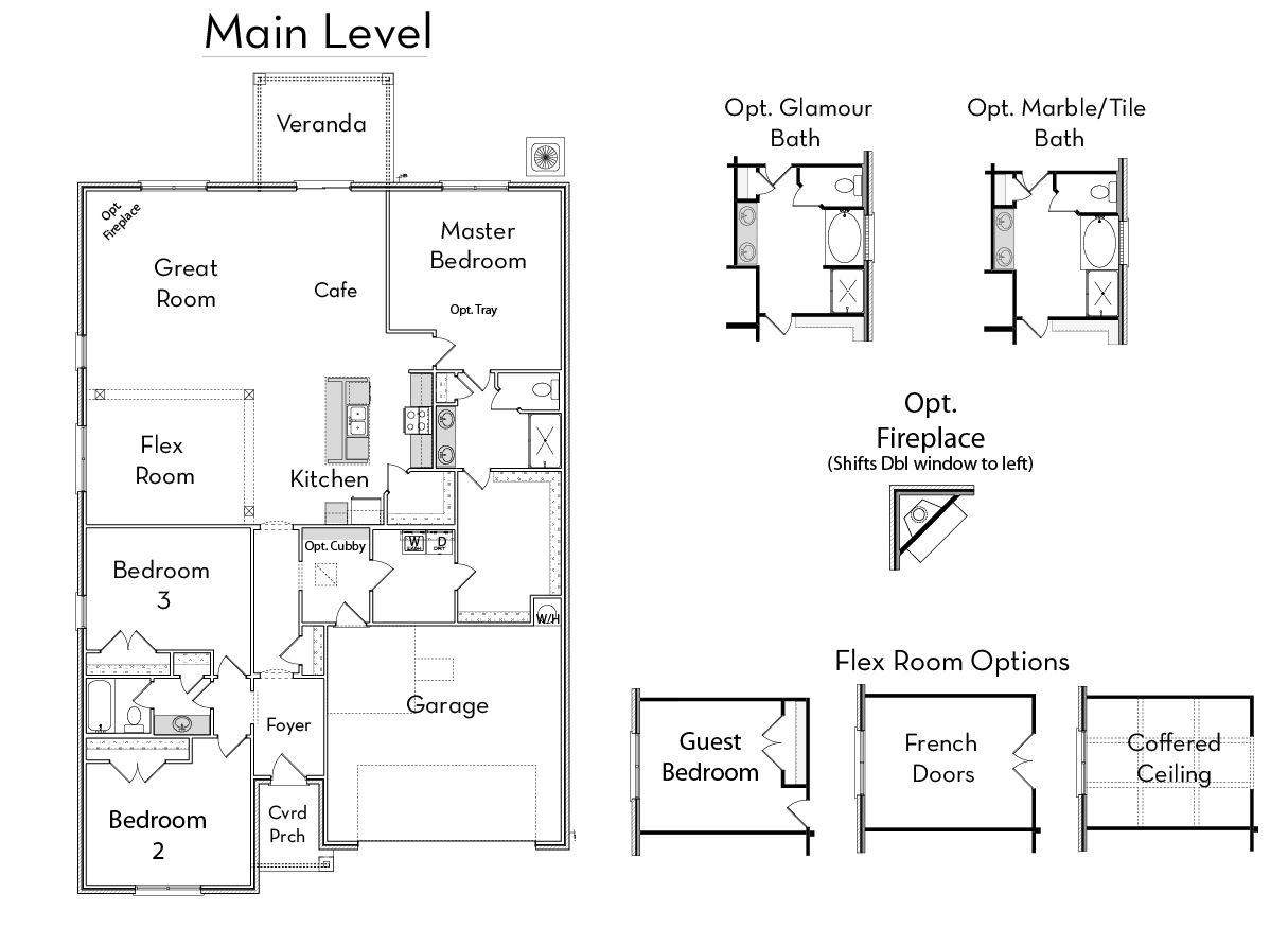 Charleston Floor Plan The Charleston Home Builders